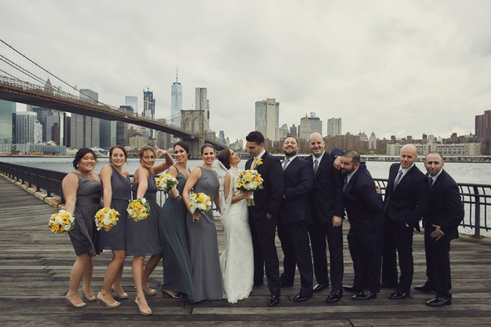Wedding photos at Deity wedding venue by Le Image - Brooklyn photographers.