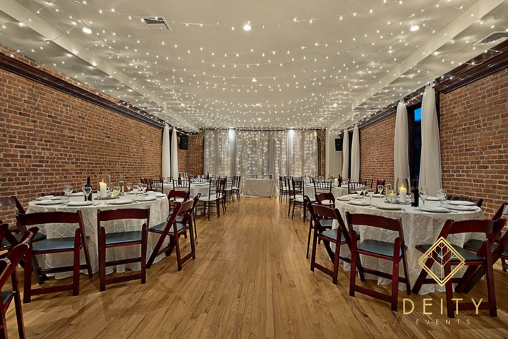 Deity NYC Venue- The Loft, versatile dinner space 2